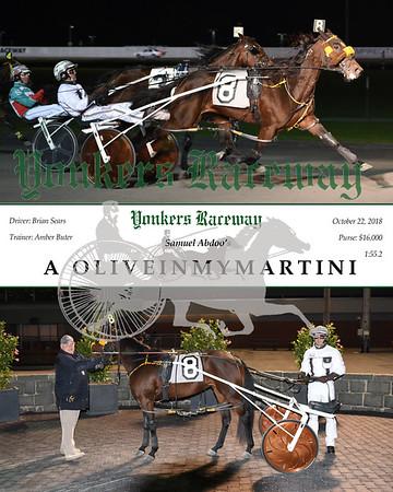 20181022 Race 3-A OliveInMyMartini