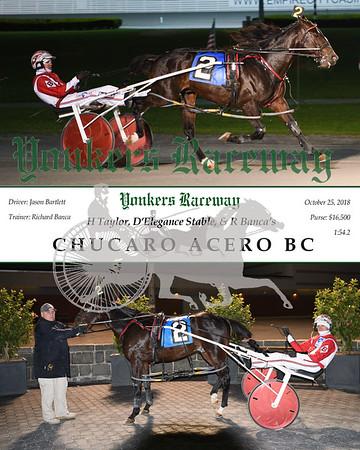20181025 Race 5-Chucaro Acero Bc