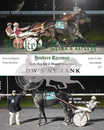 20181027 Race 6- Dw's Ny Yank