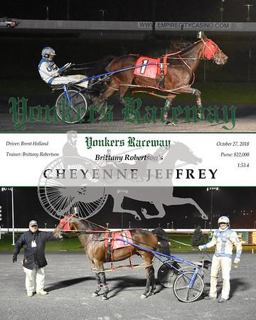 20181027 Race 2- Cheyenne Jeffrey