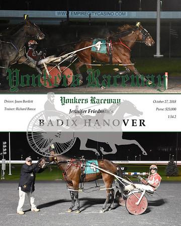 20181027 Race 3- Badix Hanover