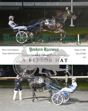 20181027 Race 1- A Bettor Hat