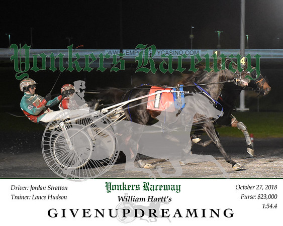 20181027 Race 4- Givenupdreaming