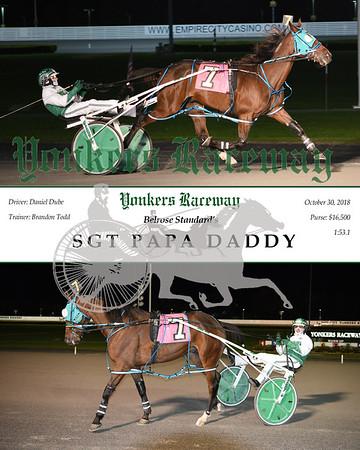 20181030 Race 5-Sgt Papa Daddy