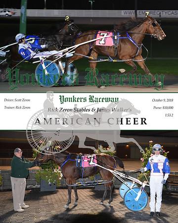 20181009 Race 5-American Cheer