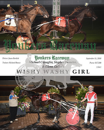 20180911 Race 5-Wishy Washy Girl