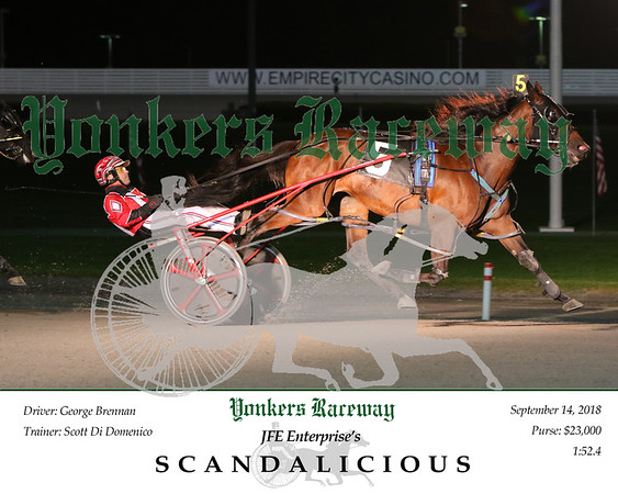 20180914 Race 9- Scandalicious 2
