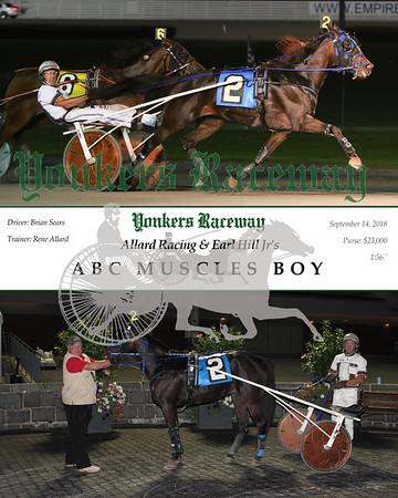 20180914 Race 11- ABC Muscle Boy