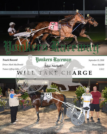 20180915 Race 6- Will Take Charge