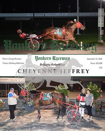 20180915 Race 11- Cheyenne Jeffrey