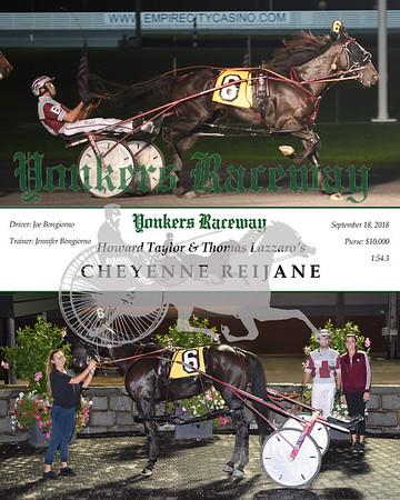 20180918 Race 3-Cheyenne Reijane