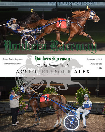 20180918 Race 5-AceFourtyFour Alex