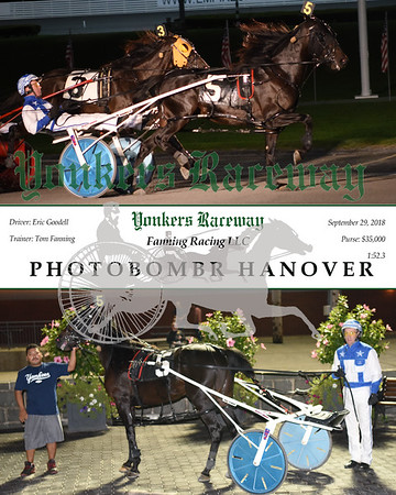 20180929 - Race 5 - PHOTOBOMBR HANOVER