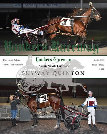 20190401 Race 6-Skyway Quinton