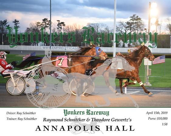 20190415 Race 2-Annapolis hall