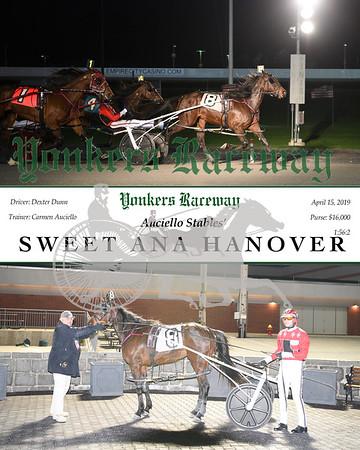 20190415 Race 4 Sweet Ana Hanover