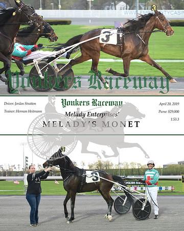 20190420 Race 2- Melady's Monet
