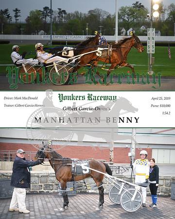 20190425 Race 1- Manhattan Benny 1