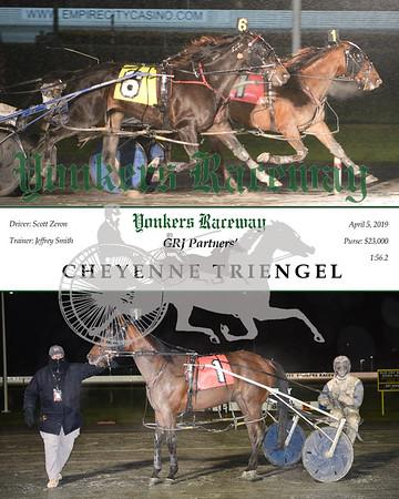 20190405 Race 11-Cheyenne Triengel