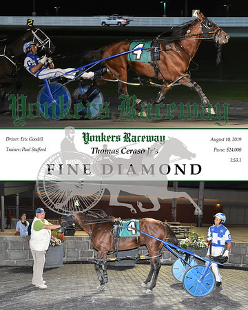 20190810 Race 12-Fine Diamond