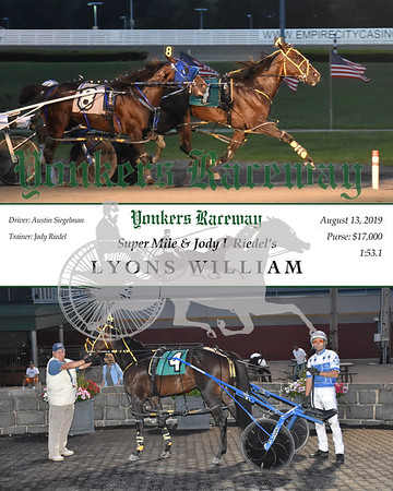 20190813 Race 3- Lyons William