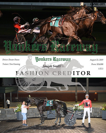 20190823 Race 11- Fashion Creditor