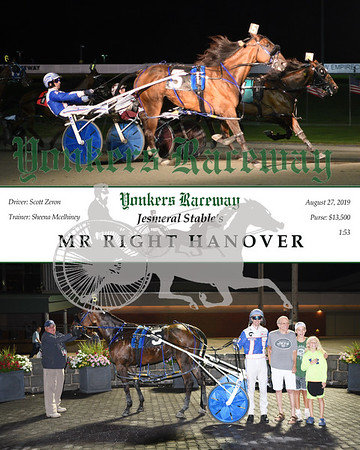 20190827 Race 9- Mr Right Hanover