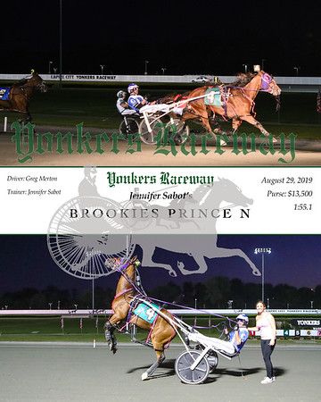 08292019 Race 4- Brookies Prince N