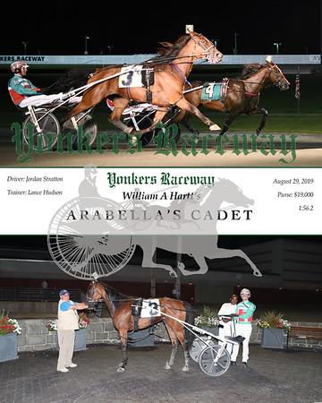 08292019 Race 9- Arbella's Cadet