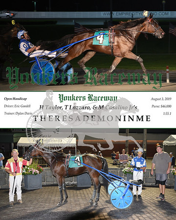 20190803 Race 6-TheresADemonInMe