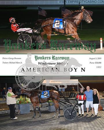 20190803 Race 10-American Boy N