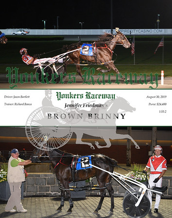 08302019 Race 4- Brown Brinny