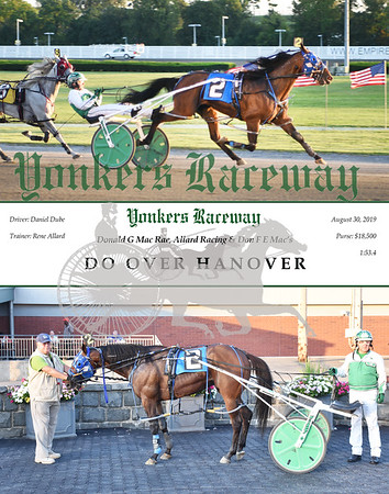 08302019 Race 1- Do Over Hanover