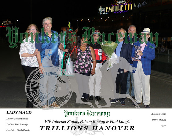 20190831 Race 5- Trillions Hanover 9