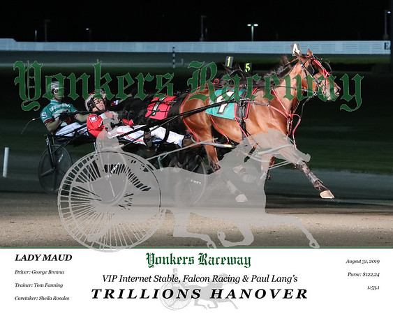 20190831 Race 5- Trillions Hanover 5