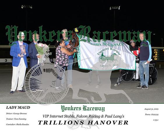20190831 Race 5- Trillions Hanover 8