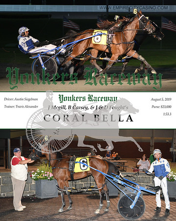 20190805 Race 9-Coral Bella