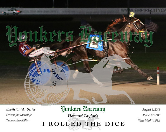 20190806 Race 6- I Rolled The Dice 2