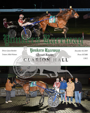 20191210 Race 9- clarion hall
