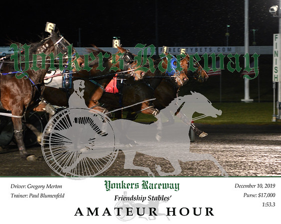 20191210 Race 8-amateur hour