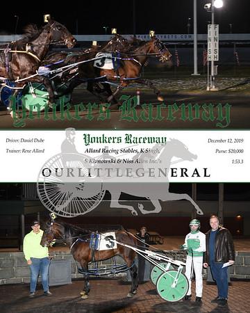 20191212 Race 10- Ourlittlegeneral