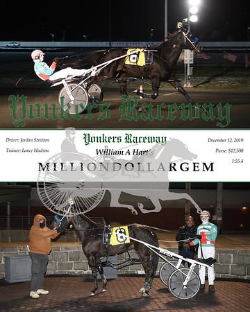 20191212 Race 3-Milliondollargem A