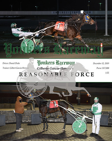 20191212 Race 7- Reasonable Force