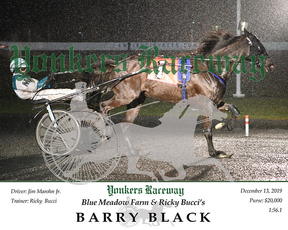 20191213 Race 3- Barry Black 1
