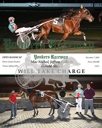 20191207 Race 6- Will Take Charge