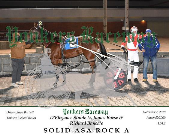 20191207 Race 7- Solid Asa Rock A 3