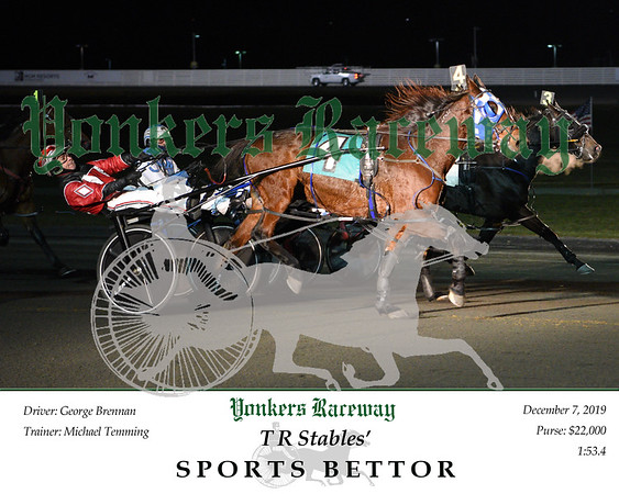 20191207 Race 4- Sports Bettor 2