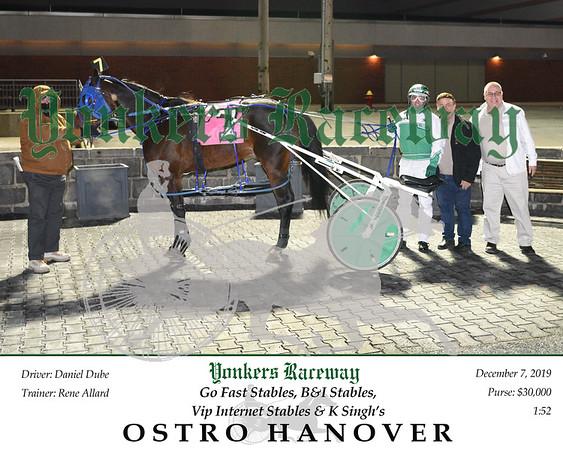 20191207 Race 5- Ostro Hanover 2