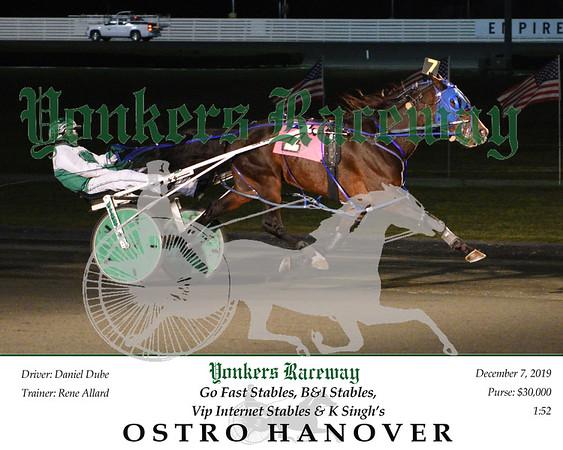 20191207 Race 5- Ostro Hanover 1