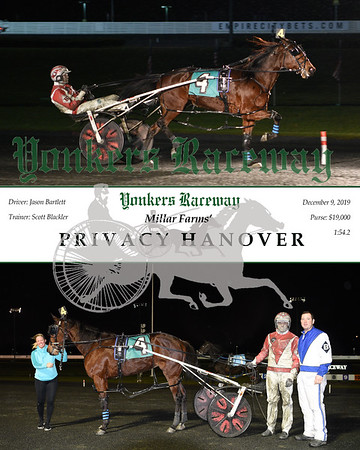 20191209 Race 8- privacy hanover